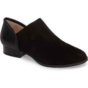 Jack Rogers Avery Suede & Leather Bootie Sz 6